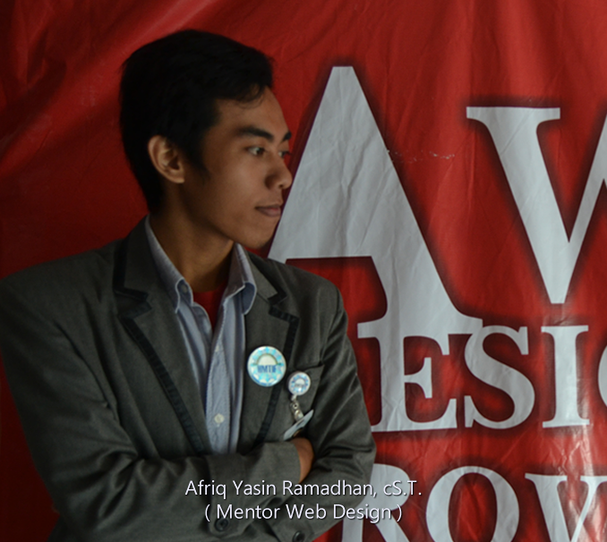 afriq yasin ramadhan mentor kelompok studi web bagian web design